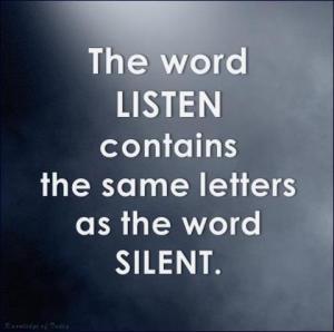 Clip-listen-words-as-silent